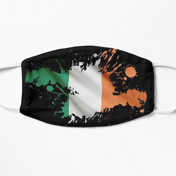 Bandera de la República de Irlanda / Bandera irlandesa Mascarilla plana