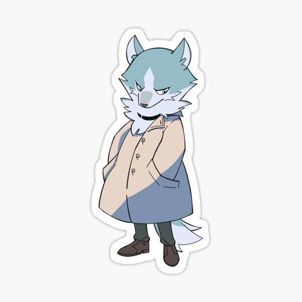 Wolf Shirou Big Coat Boys Sticker