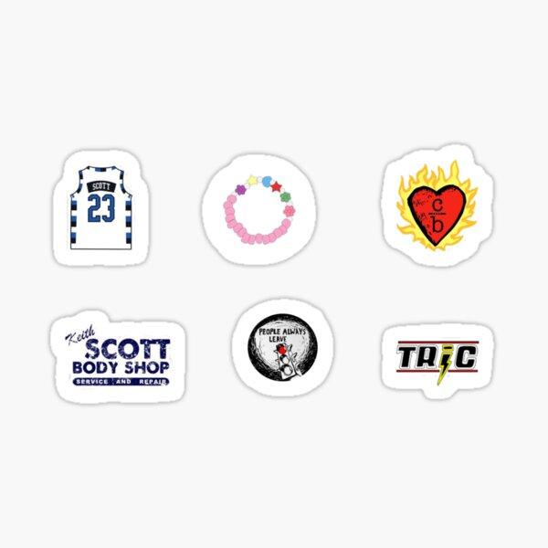 vêtements sur logo bros Sticker