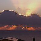 Sun rise in Cornwall by Jan Carlton