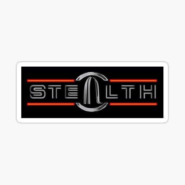 Stealth Logo Design Sticker