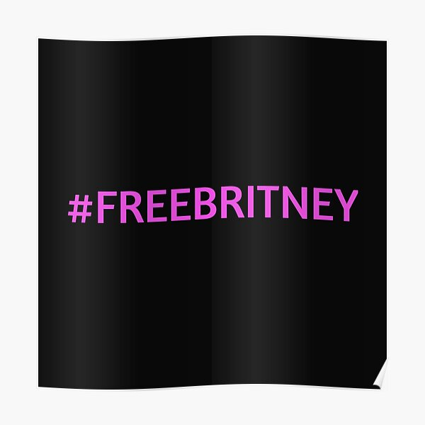 FREE BRITNEY SPEARS Poster
