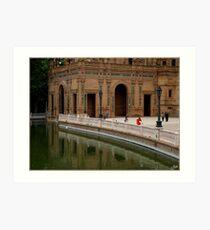 Plaza de Espana Art Print