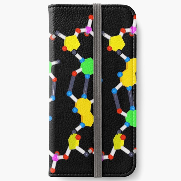 DNA Unwound Landscape iPhone Wallet