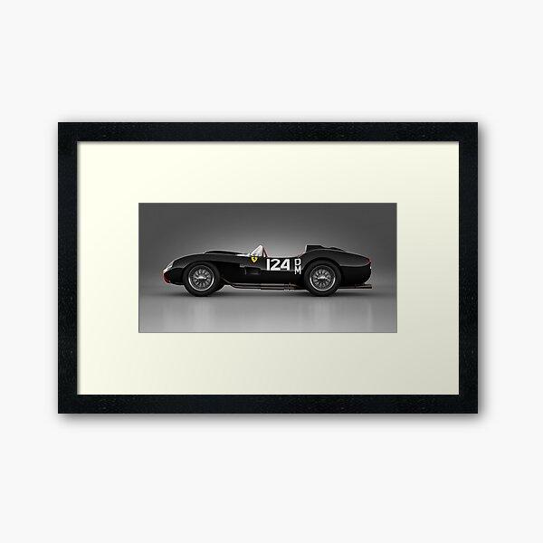 Ferrari 250 Testa Rossa - Rosette Framed Art Print