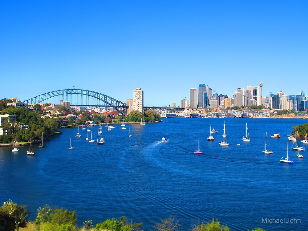Sydney Harbour by Michael John