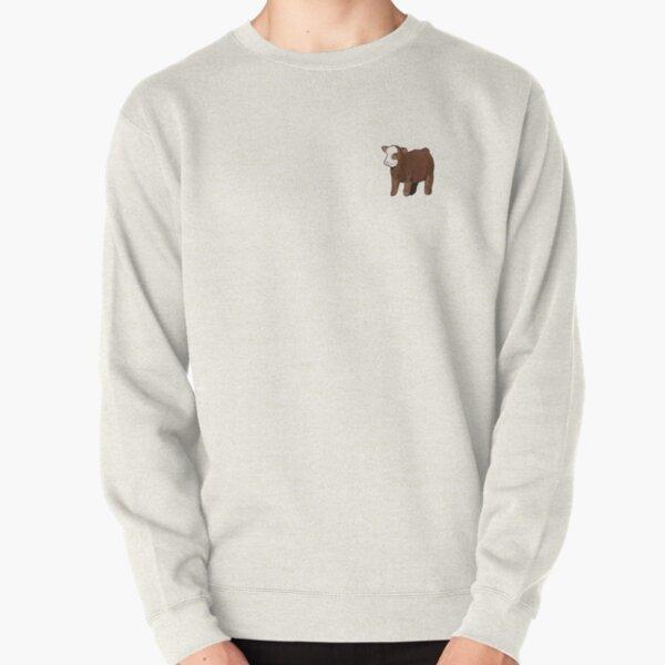 fluffy cow puppy! Pullover Sweatshirt