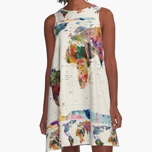 map A-Line Dress