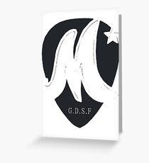 McFly Plectrum Design! Greeting Card