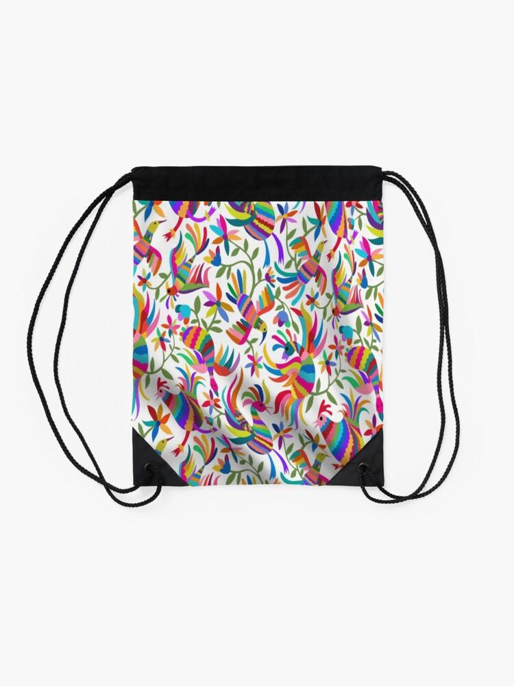 Alternate view of Otomi  Drawstring Bag