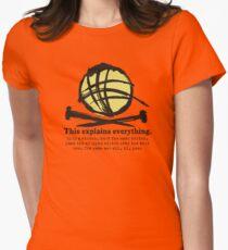 Funny knitting needles ball of yarn jargon T-Shirt