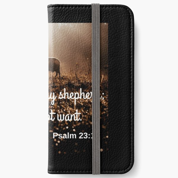 Psalm 23:1 iPhone Wallet