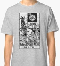 Death Tarot Card - Major Arcana - fortune telling - occult Classic T-Shirt