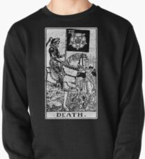 Death Tarot Card - Major Arcana - fortune telling - occult Pullover