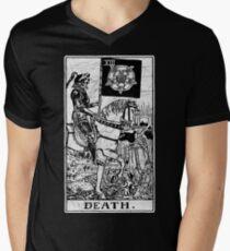 Death Tarot Card - Major Arcana - fortune telling - occult Men's V-Neck T-Shirt