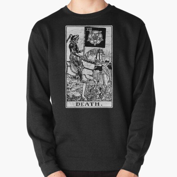 Death Tarot Card - Major Arcana - fortune telling - occult Pullover Sweatshirt