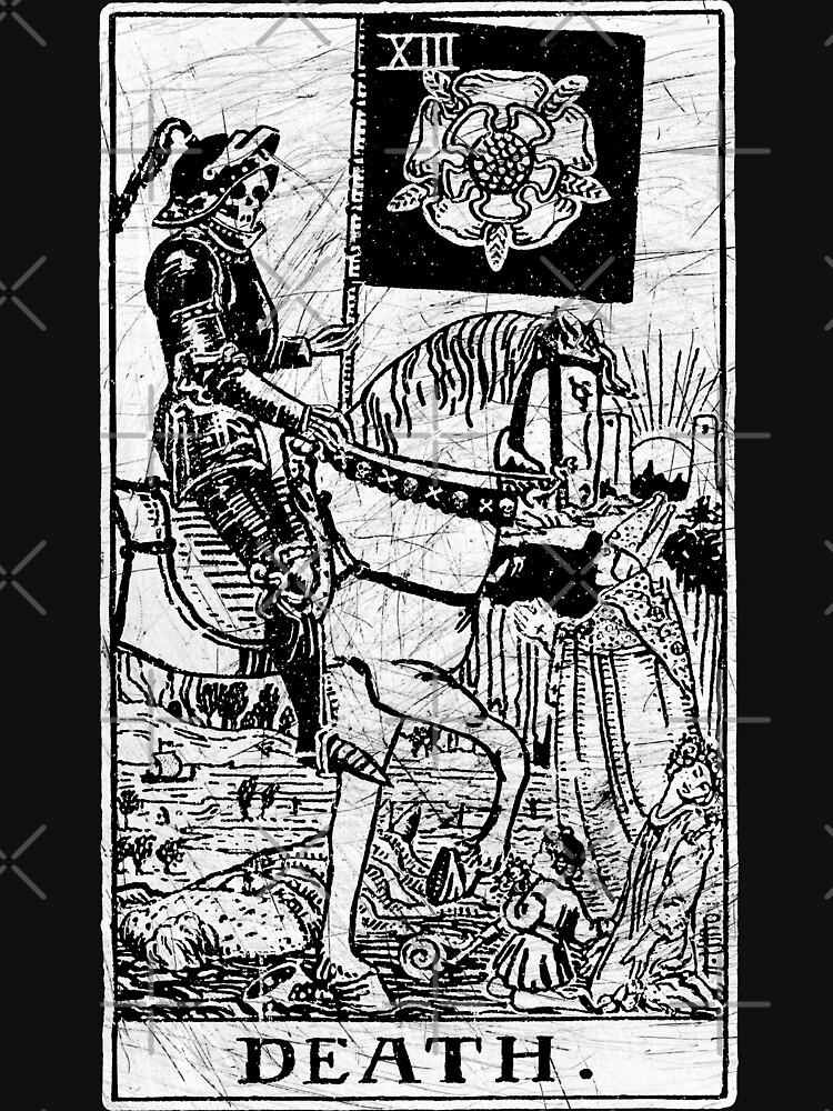 Death Tarot Card - Major Arcana - fortune telling - occult by createdezign