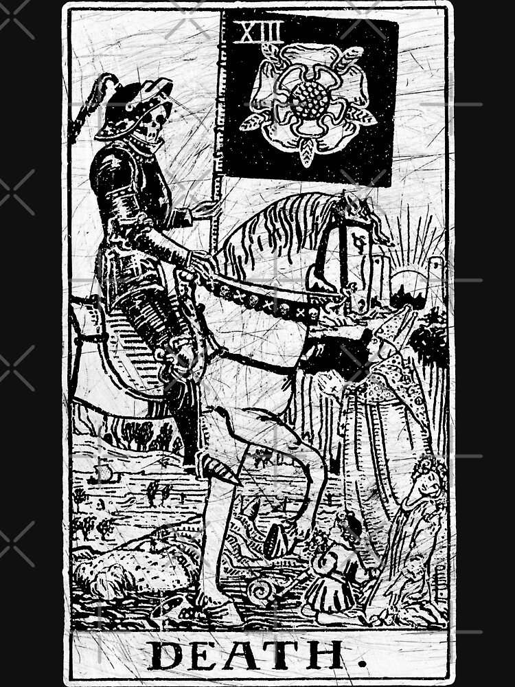 Death Tarot Card - Major Arcana - fortune telling - occult | Unisex T-Shirt