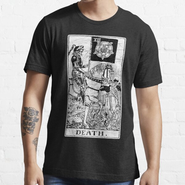 Death Tarot Card - Major Arcana - fortune telling - occult Essential T-Shirt