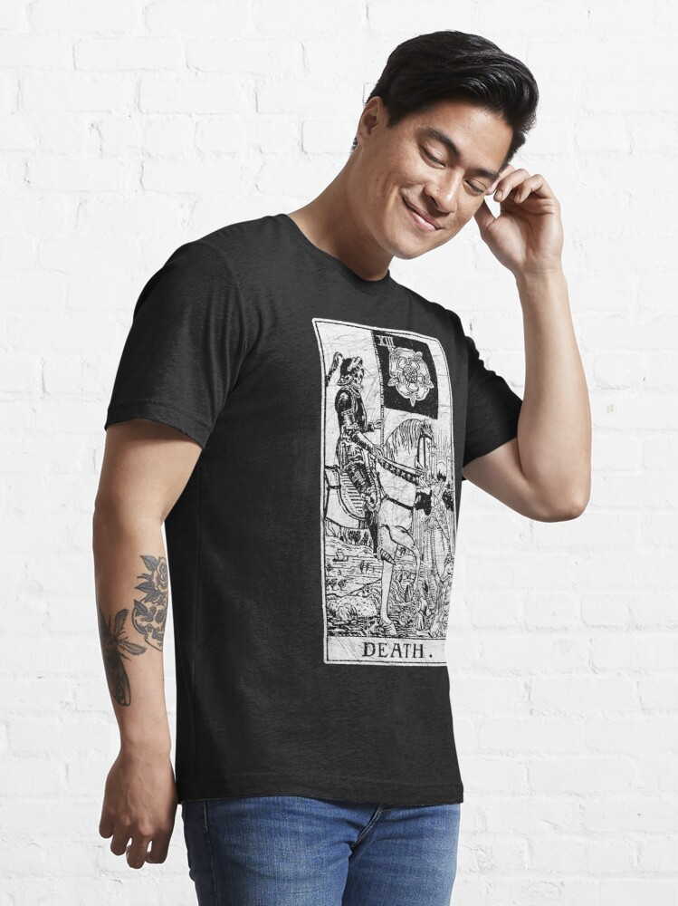 Alternate view of Death Tarot Card - Major Arcana - fortune telling - occult Essential T-Shirt