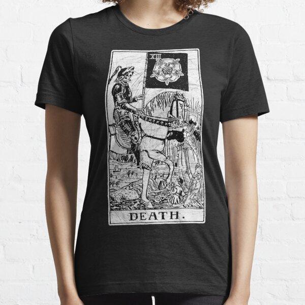 Death Tarot Card - Major Arcana - fortune telling - occult Essential T-Shirt