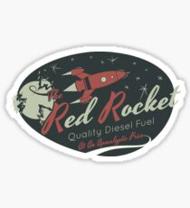 Red Rocket Sticker