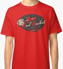 Red Rocket (Distressed) Classic T-Shirt