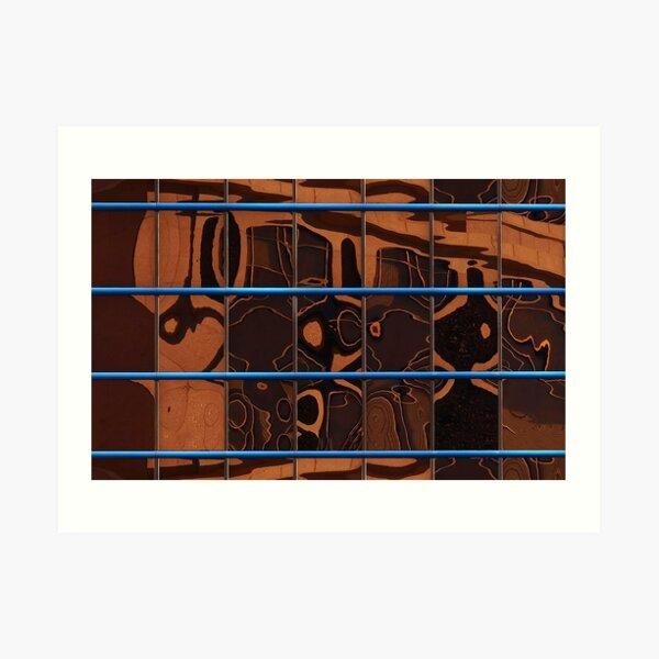 Window chatter Art Print