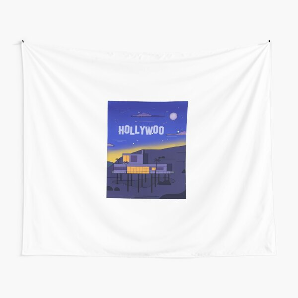 Hollywoo House Landscape Tapestry