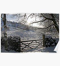 Wintertime in Kendal Poster