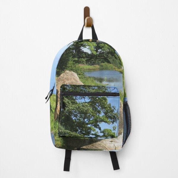 Merch #97 -- Stream Between Trees - Shot 6 (Hadrian's Wall) Backpack