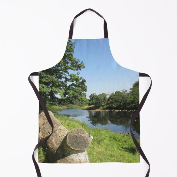Merch #97 -- Stream Between Trees - Shot 6 (Hadrian's Wall) Apron