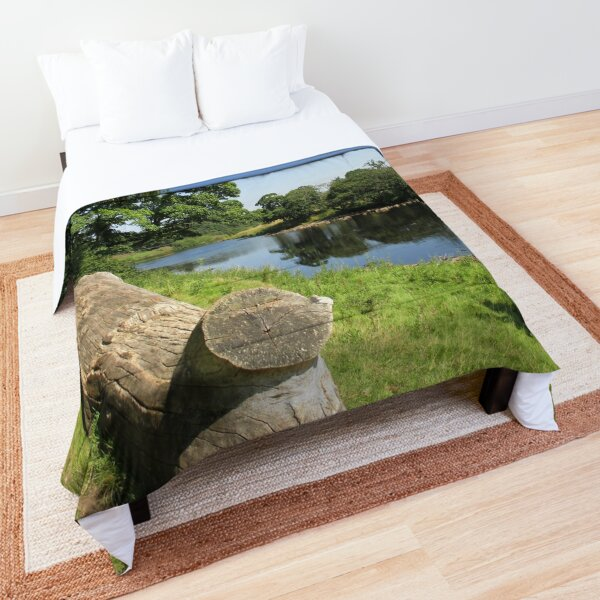 Merch #97 -- Stream Between Trees - Shot 6 (Hadrian's Wall) Comforter