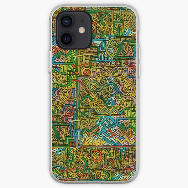 Psychedelic Rock iPhone Soft Case