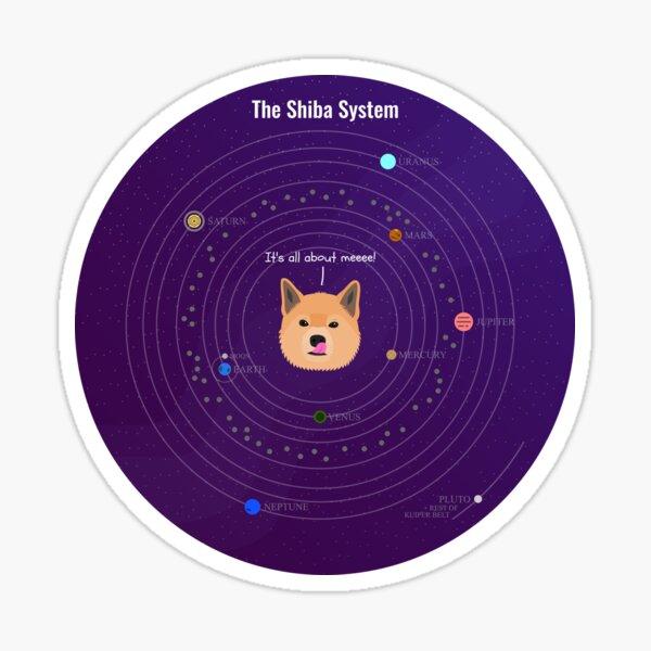 The Shiba System Sticker