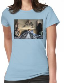 Deathbed Acquaintances Womens Fitted T-Shirt