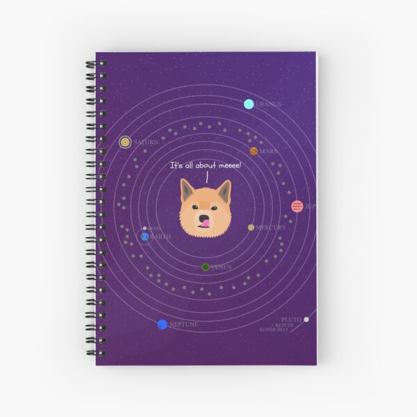 The Shiba System Spiral Notebook