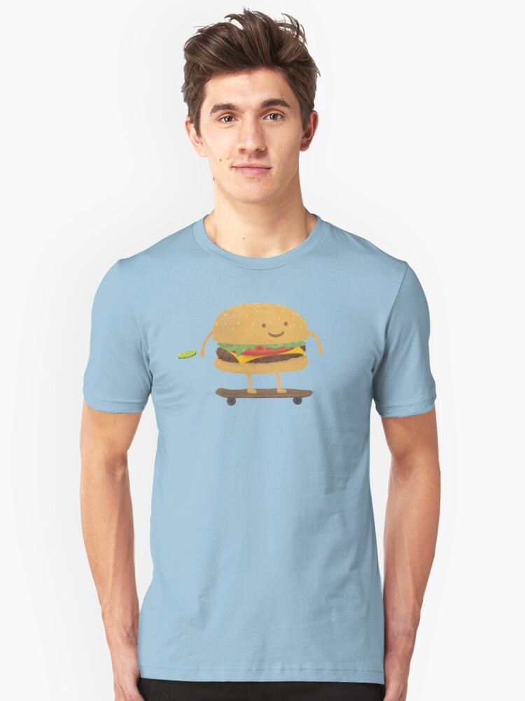 Fast Food Unisex T-Shirt Front