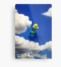 Extreme sports - Skydiving. Metal Print