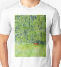 Resting on a Park bench Unisex T-Shirt