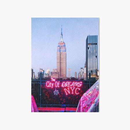 The City of Dreams Art Board Print