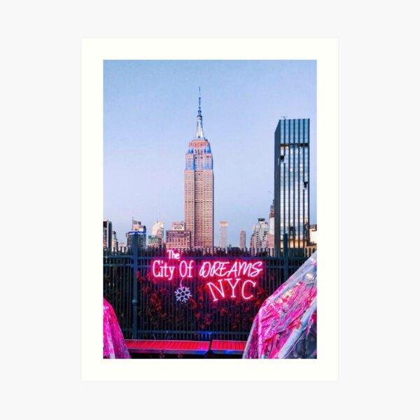 The City of Dreams Art Print