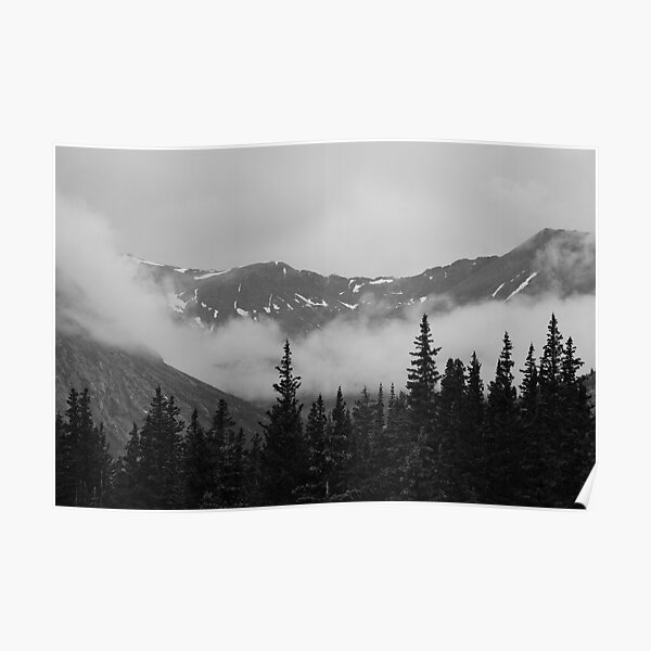 Rocky Mountains at the Continental Divide Poster