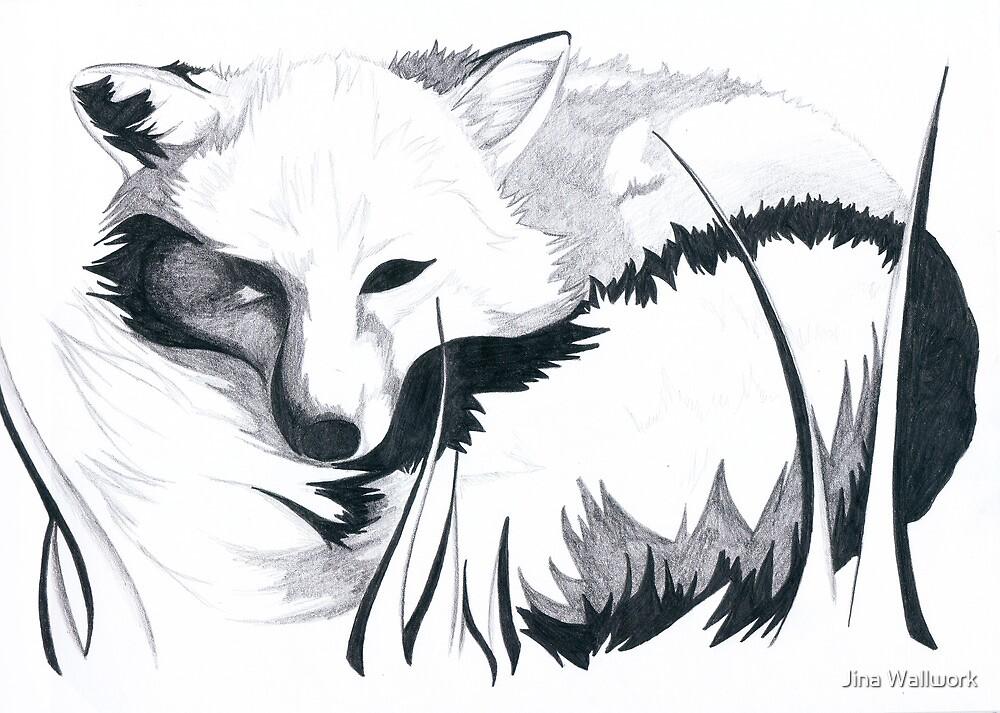 Fox by Jina Wallwork