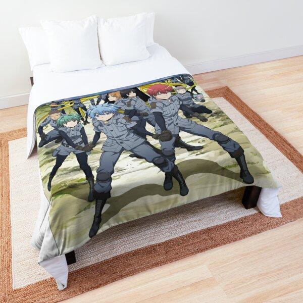 Assassination classroom Koro Sensei Study outdoor artwork Comforter