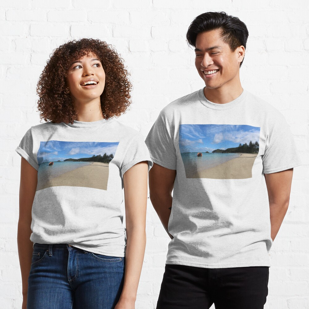 "Lord Howe Island Beaches: ""Lord Howe Island Beach Scene"" T-shirt By Ainslie1"