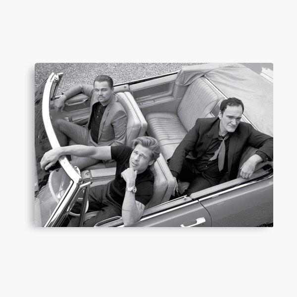 Quentin Tarantino | Once Upon a Time in Hollywood Canvas Print