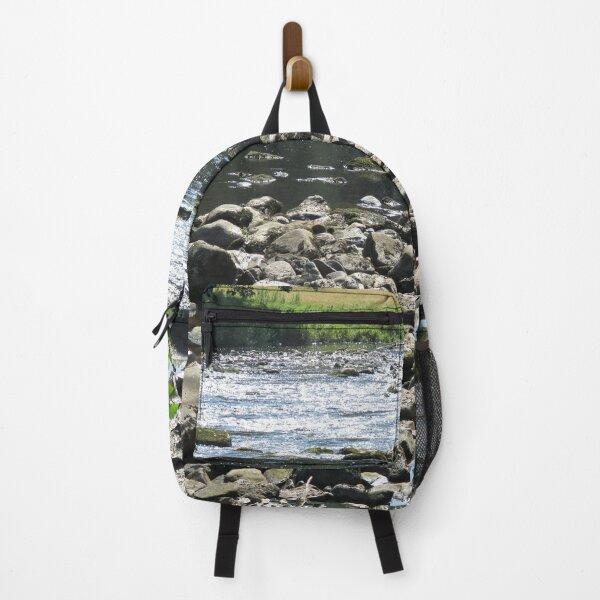 Merch #98 -- Stream Stones - Shot 1 (Hadrian's Wall) Backpack