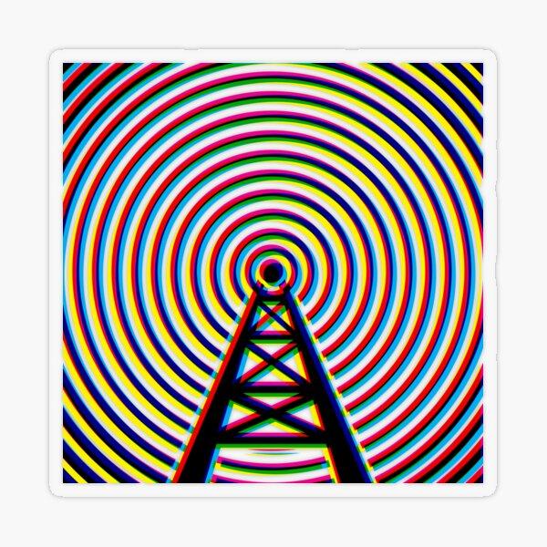 Radio tower  Transparent Sticker
