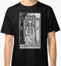 The High Priestess Tarot Card - Major Arcana - fortune telling - occult Classic T-Shirt